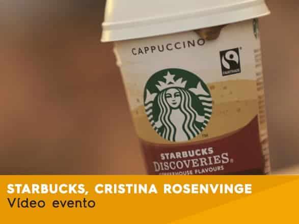 Starbucks 2015 Christina Rosenvinge
