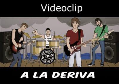 A la deriva videoclip oficial, Grupo A Tiro