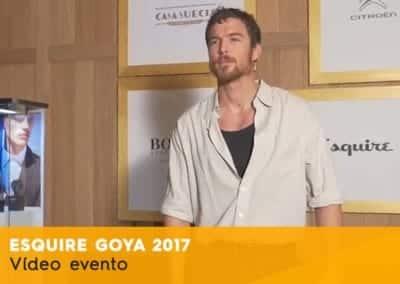 Esquire evento goya 2017
