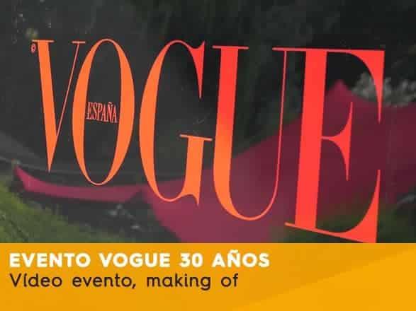 Vogue 30 aniversario