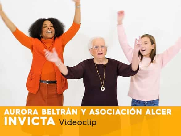 Aurora Beltrán, Videoclip Invicta