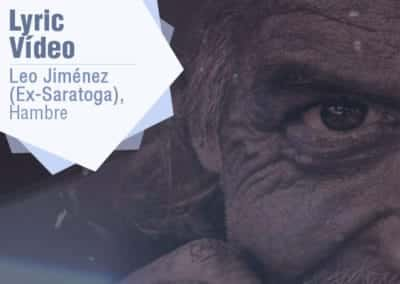 Hambre, Leo Jiménez – Vídeo lyric