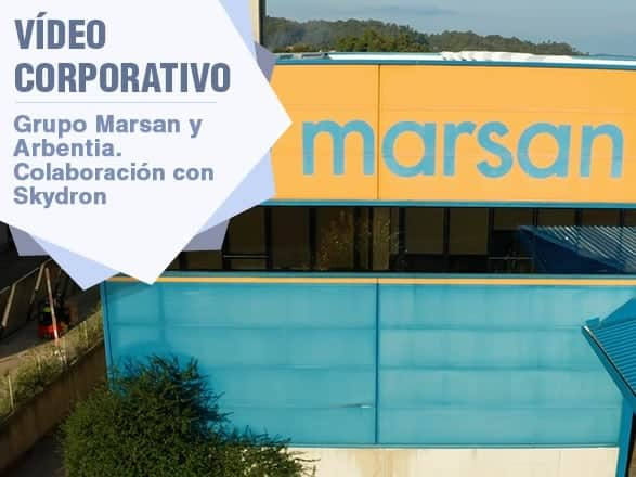 Vídeo corporativo Grupo Marsan y Arbentia para Skydron