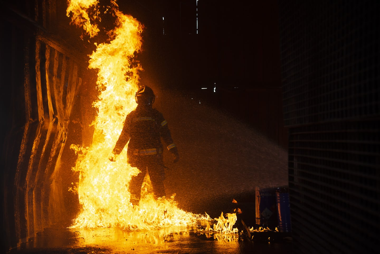 Daniel Haro fotografía bomberos madrid 2
