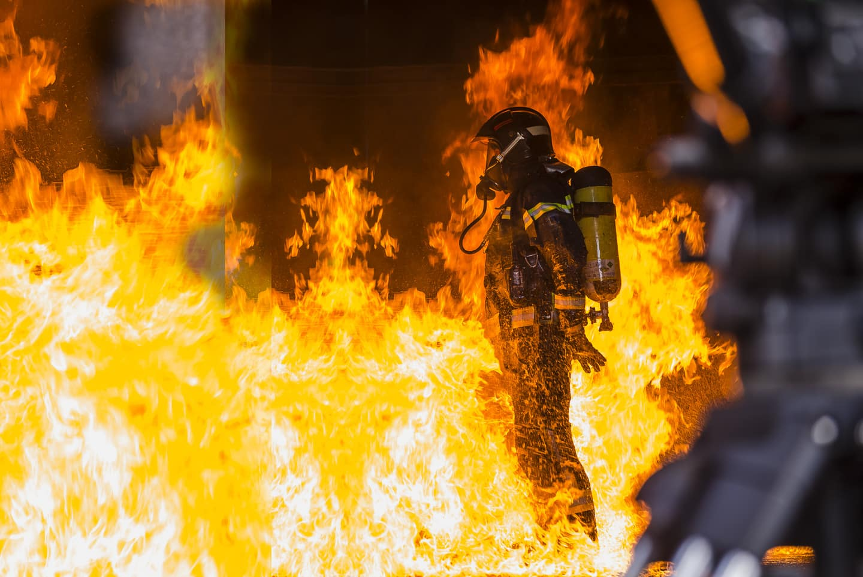 Daniel Haro fotografía bomberos madrid 1