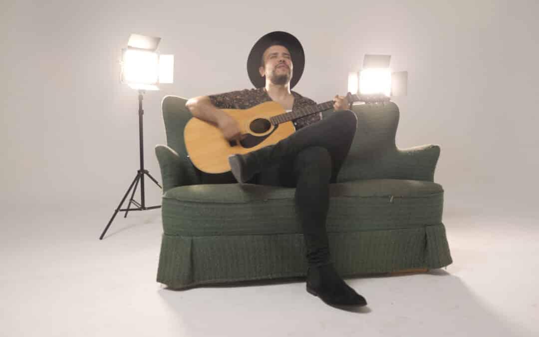 Grabación de videoclip en estudio experiencias de vídeo