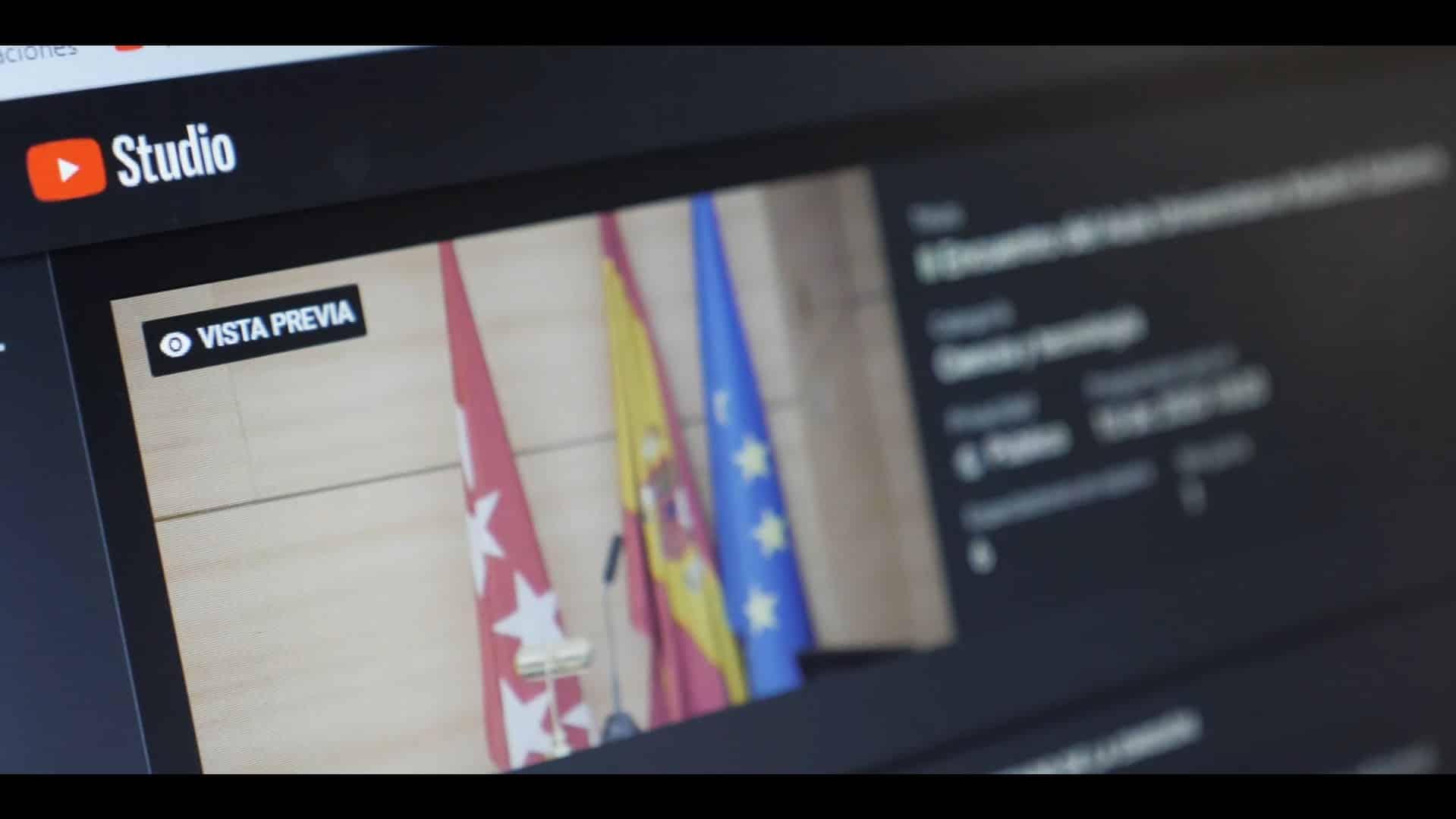 Streaming vídeo presupuesto Madrid José Villaescusa Producciones Audiovisuales